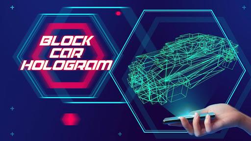 ブロックカーホログラム