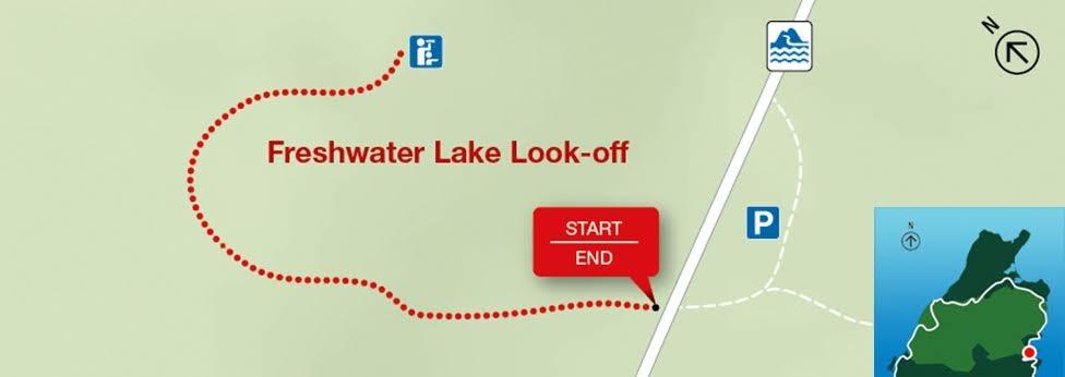Freshwater Lake Look-off, Park Narodowy Cape Breton Highlands
