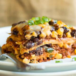 Turkey Taco Mexican Lasagna