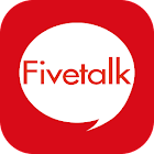 Draw chat & free call Fivetalk icon