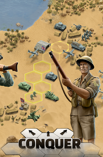 1943 Deadly Desert - a WW2 Strategy War Game 1.3.0 3