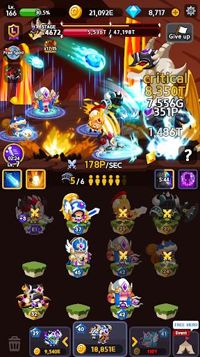Merge Heroes Frontier: Casual RPG Online screenshots apkshin 6