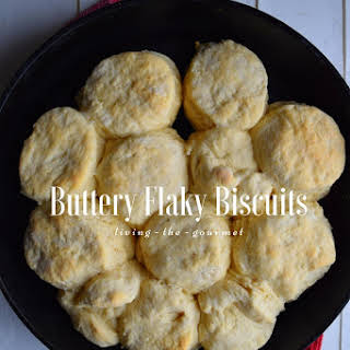 Best Ever Buttery Flaky Biscuits.