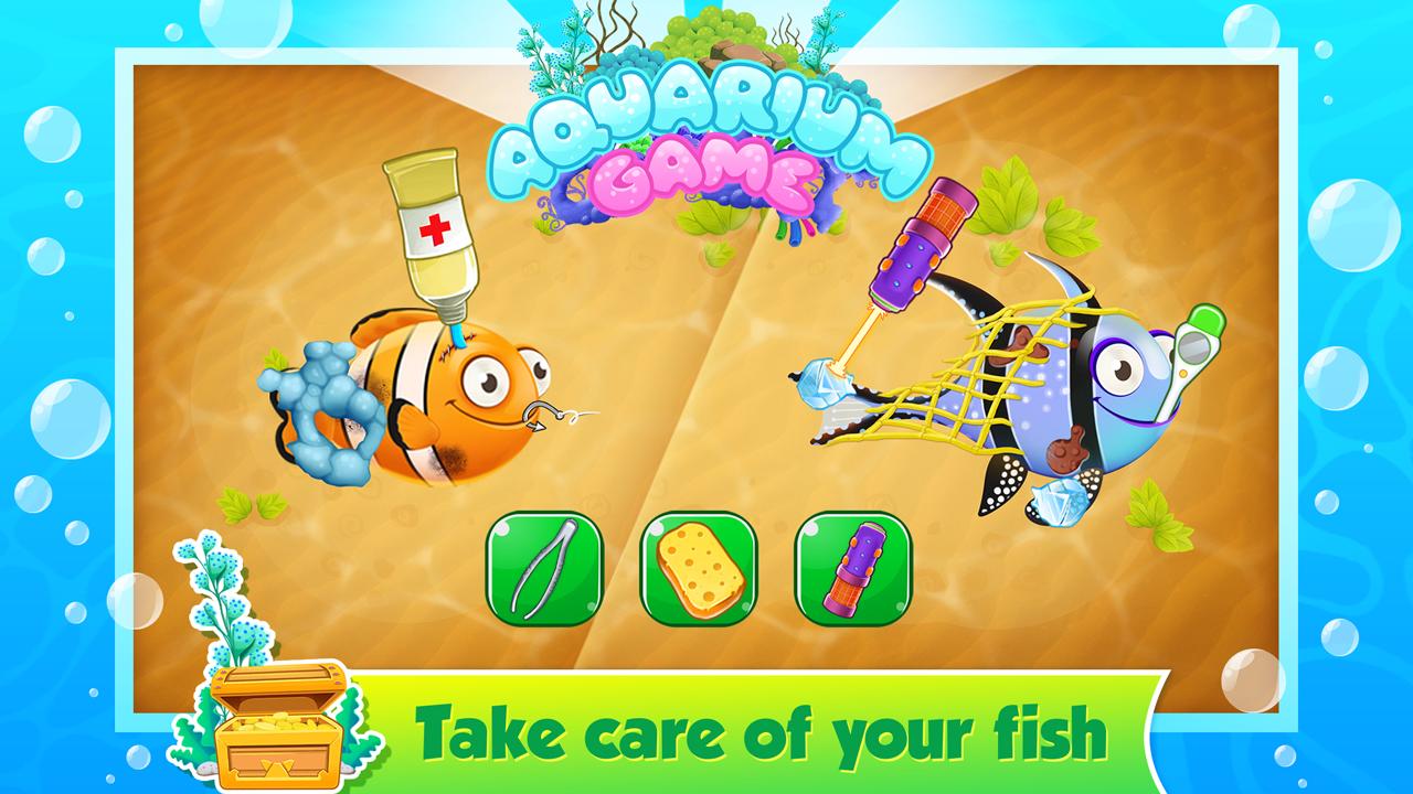 Aquarium fish tank game - My Fish Tank Aquarium Games Screenshot