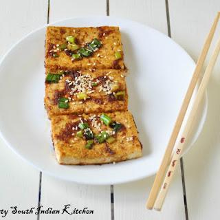 Dubu-jorim (????) Spicy braised tofu