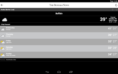 The Buffalo News- screenshot thumbnail