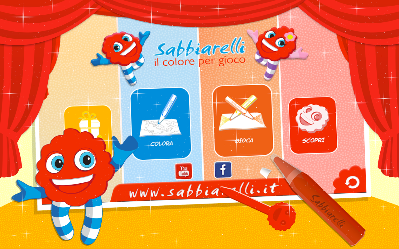 Sabbiarelli - Paint and Play- screenshot