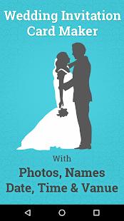 Wedding invitation card maker android apps on google play wedding invitation card maker screenshot thumbnail stopboris Gallery