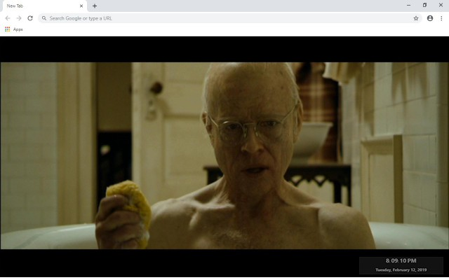 The Curious Case of Benjamin Button New Tab