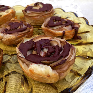 Chocolate Pear Roses.