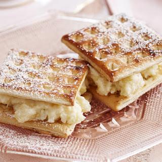 Cheesecake Sandwiches.