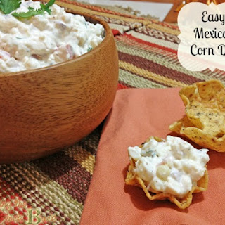 Easy Mexican Corn Dip