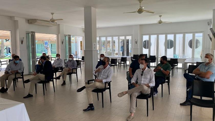 Imagen de la reunión en Roquetas de Mar.