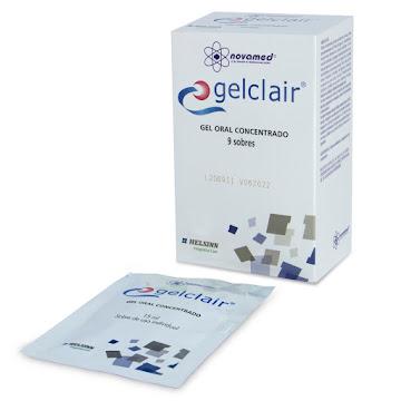 Gelclair 01% Gel   Caj.x9Sob. NOV Ácido Hialurónico Polivinilpirrolidona