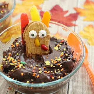Thanksgiving Turkey Pudding