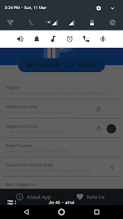 Volume controls android p – P Volume controls Free 24