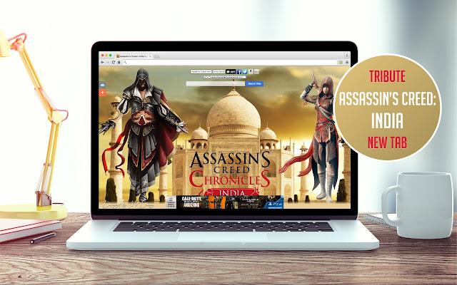 Assassin's Creed: India New Tab