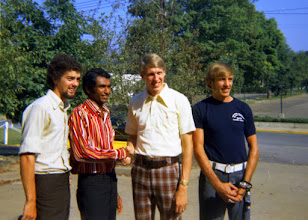 Photo: Charleston Distance Run 1973, including Neil Cusack, Lucien Rosa, Dave Wottle