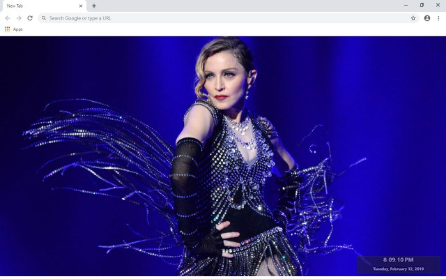 Madonna New Tab & Wallpapers Collection