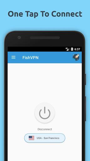 FishVPN – Unlimited Free VPN Proxy & Security VPN 1.5.2 screenshots 1