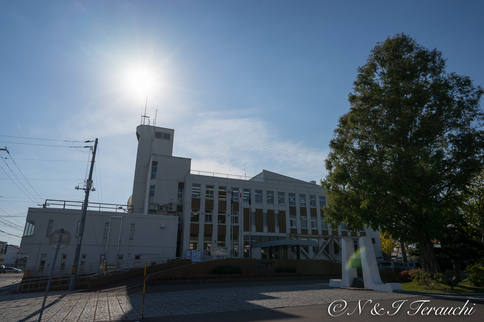 月形役場庁舎