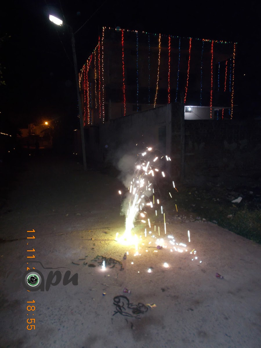 Bhawanipatna Decoration on Diwali
