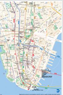 New York Subway & Rail Maps- screenshot thumbnail