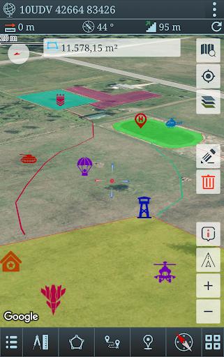 Mgrs & Utm Map Pro  screenshots 2