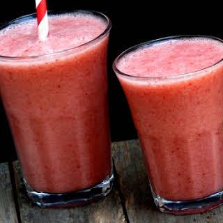 Strawberry-Banana Smoothie.