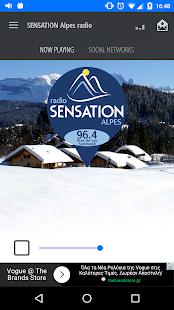 SENSATION Alpes radio - náhled