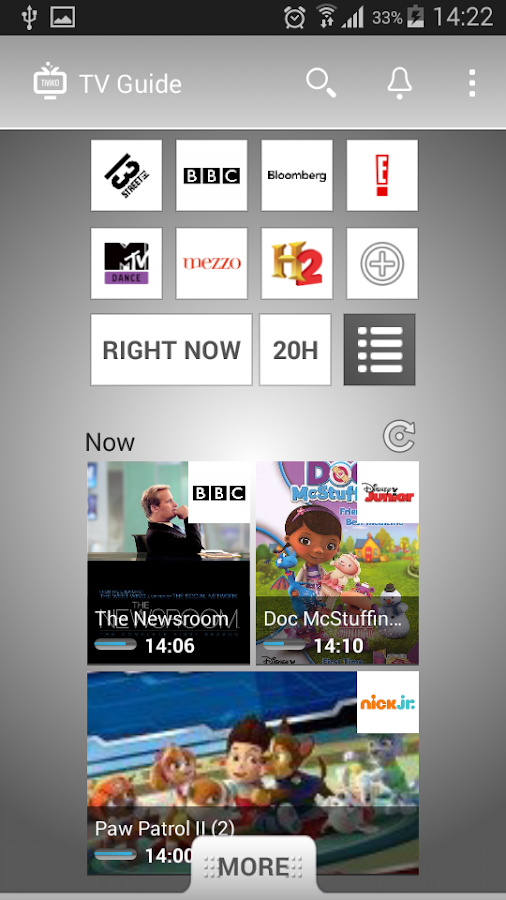 TV Guide TIVIKO - EU- screenshot