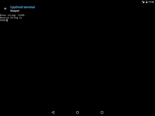 CppDroid - C/C++ IDE 3.3.3 screenshots 13