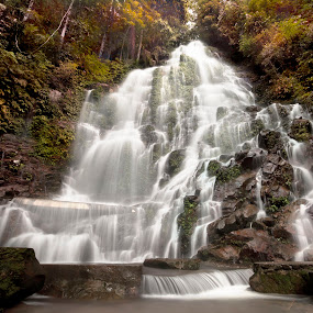 Paradise waterfall by Hendrik Cuaca - Landscapes Waterscapes