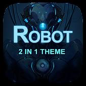 (FREE) Robot 2 In 1 Theme