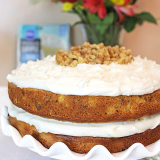 HUMMINGBIRD CAKE w/CREAM CHEESE FROSTING
