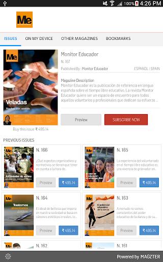 Monitor Educador