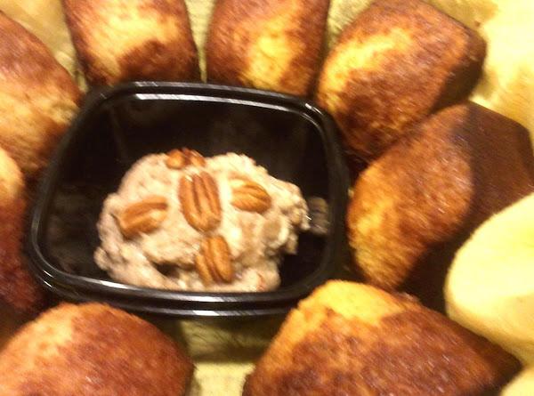 Honey Corn Bread Mini Loaves /w Honey Pecan Butter Recipe