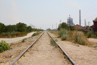 Photo: once upon a time...there was a train connection between Plemetina and Prishtina