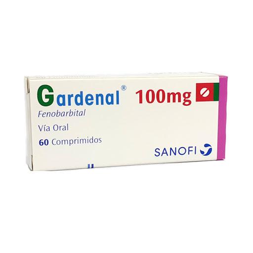 Fenobarbital Gardenal 100 mg x 60 Comprimidos Sanofi 100 mg x 60 Comprimidos