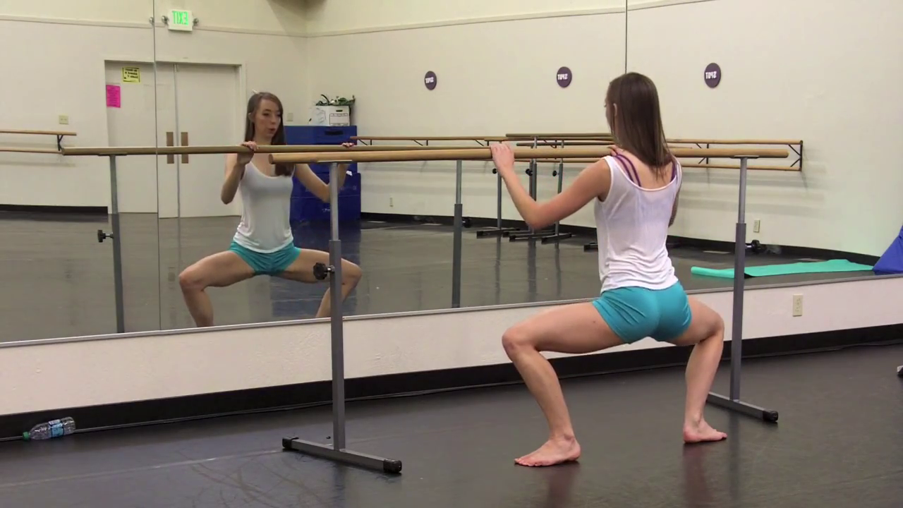 how to build a ballet barre