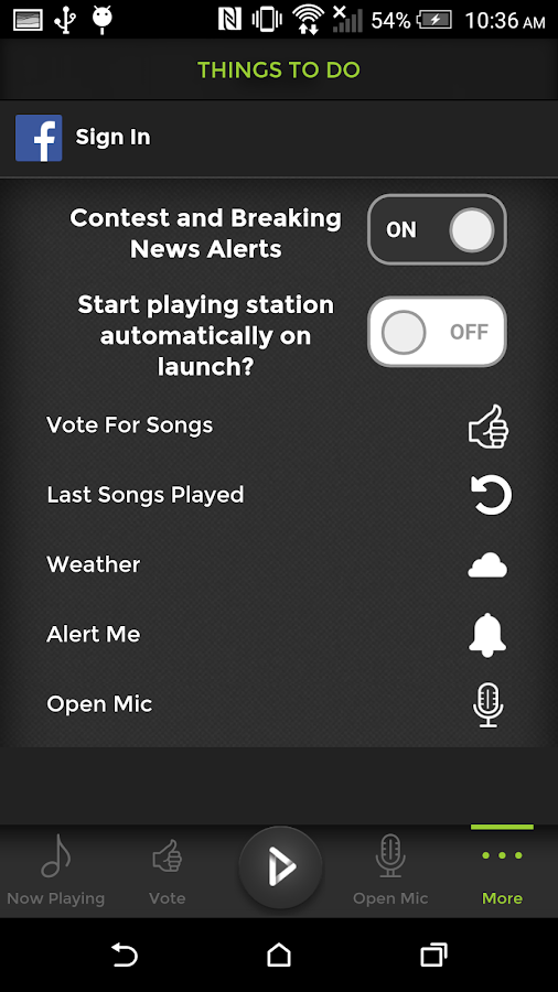 X106.5- screenshot