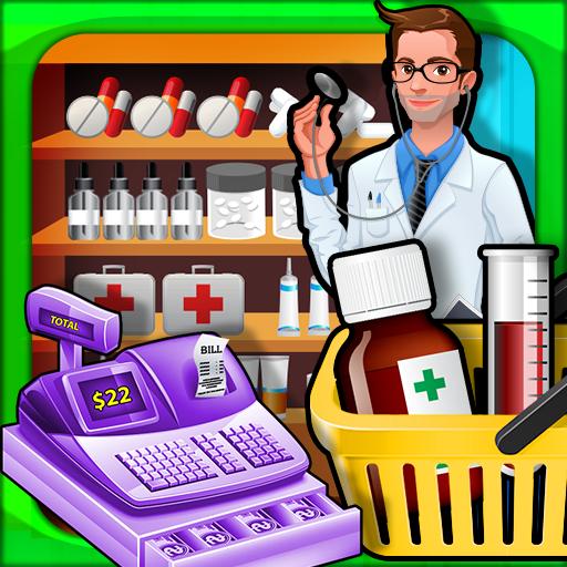 Supermarket Drugstore Shopping (game)