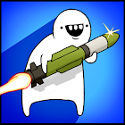 Missile Dude RPG: Tap Tap Missile icon