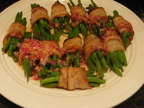 Tasty Green Bean Bundles Recipe