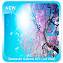 Romantic Sakura HD Live Wallpaper APK icon