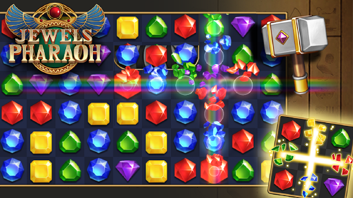 Jewels Pharaoh : Match 3 Puzzle filehippodl screenshot 2