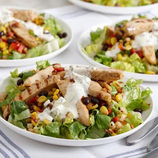 Southwestern Style Chicken Fajita Salad