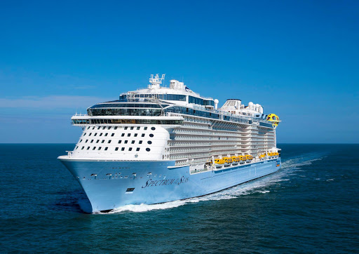 The 4,180-passenger Spectrum of the Seas is the latest Quantum class ship from Royal Caribbean.