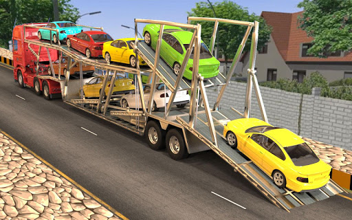 Heavy Truck Loader - Car Cargo Transport image | 2