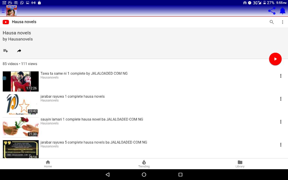 Da'iman complete Hausa novel – (Android Apps) — AppAgg